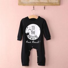 Lestore Baby Boy Long Sleeve Cartoon Romper Christmas Bodysuit Costume Outfits