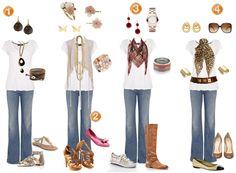 Estilo: Renove o bom e velho Jeans + Camiseta