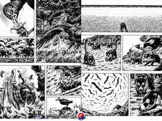 Pin By Susie Petri On Lineart Gon Mini Dinosaur Manga Manga Mini