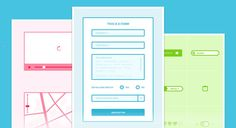 WIRED - A Wireframe Kit Sketch.app Template