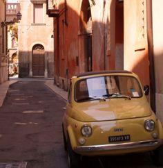 #Verona #Veneto #Italy | Old 500