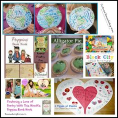 Creative Activities and Books to Explore Poetry with Kids