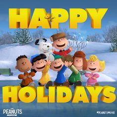 Merry Christmas from the PeanutsMovie gang to yours!