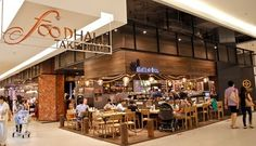 What's New at Siam Paragon Food Hall Mall Design, Retail Design, Rustic Restaurant Interior, Mall Kiosk, Food Kiosk, Thailand Vacation, Food Court, Store Fronts, Shopping Mall