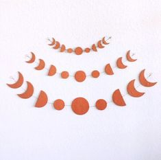 Articles similaires à SMALL - Terra Cotta Moon Phase Wall Hanging sur Etsy Diy Clay, Clay Crafts, Diy And Crafts, Clay Projects, Celestial, Clay Jewelry, Clay Earrings, Jewellery, Clay Art