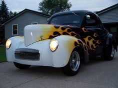 1941 WILLYS COUPE HOT ROD