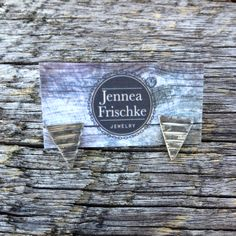 #sterling #triangle #studs #jenneajewelry