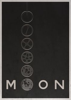 Poster idea for Moon by Chris Mesh.