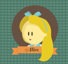 Disney Princess by Evelyn Limanto, via Behance