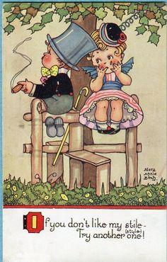 Nora Annie Birch postcard via eBay