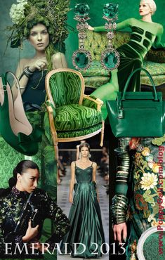 EMERALD - Pantone Color Of The Year 2013