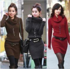 Moda en vestidos de invierno 6