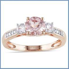 grandioso anillo de compromiso en oro rosa 18k envio gratis