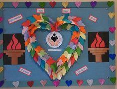 """Tüm sınıflara yönelik, birbirinden güzel """"Öğretmenler Günü"""" panoları Recycling, Wreaths, Halloween, Home Decor, Decoration Home, Door Wreaths, Room Decor, Deco Mesh Wreaths, Upcycle"""