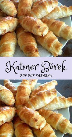 Puf Puf Kabaran Katmer Börek #katmerbörek #börektarifleri #hamurişitarifleri #nefisyemektarifleri