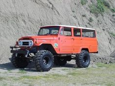 This is a pretty rad family vehicle for living in the mountains.  FJ45LV Toyota Land Cruiser.