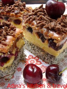 Romanian Desserts, Gordon Ramsay, Food Cakes, Cheesesteak, Cake Recipes, Sweet Treats, Cheesecake, Food And Drink, Cooking Recipes