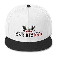 CaribicBNB Black Unicorns Wool Blend Snapback