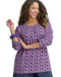 Women's Plus Size Shirts & Blouses at Belongstoyou.com