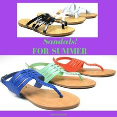 JUST ARRIVED! Hundreds of sandals. Brights and neutrals, low-heeled, flats, and more. Perfect for summer here in South Florida. We hope to see you this weekend so you can browse the aisles and pick up some of your favorites.  1334 N Military Trail, WPB  #