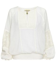 Denim & Supply Blouse #white #fashion #engelhorn #trends
