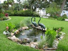 Idea, formulas, and also guide in the interest of getting the greatest result and also coming up with the max utilization of Acreage Landscaping Ideas Small Garden Plans, Garden Yard Ideas, Garden Projects, Outdoor Water Features, Water Features In The Garden, Garden Pond Design, Landscape Design, Landscaping Plants, Acreage Landscaping