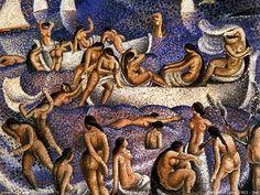 Salvador Dali - Bathers Of Llane, 1923