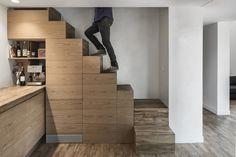 Rehabilitation of a Rural House - Cyril Chênebeau - France - Kitchen - Humble Homes