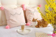 Jak ozdobić poduszki? Pillow diy - twojediy.pl