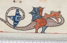 Detail from The Luttrell Psalter, British Library Add MS 42130 (medieval manuscript,1325-1340), f11r