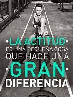 La actitud es una pequeña cosa que hace una gran diferencia