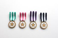 This handmade Star Medal Brooch is designed to be given to somebody that has…