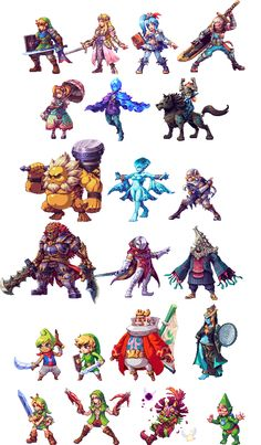 Hyrule Warriors All Stars by AbyssWolf.deviantart.com on @DeviantArt