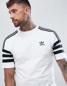 adidas Originals | adidas Originals Authentic T-Shirt In White DH3855