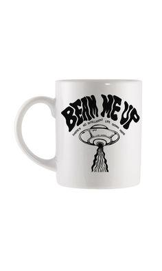 Trash Monkey ** Disturbia - Beam Me Up Mug