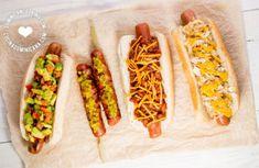 Recetas de Hot Dogs (Perros Calientes)