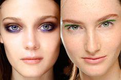 In & Out: las tendencias de belleza del 2014: Toque violeta vs Toque esmeralda
