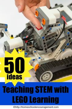 50+ Ideas, Free Printables, Activities, Lesson Plans, Toys and Books for teaching STEM with LEGO Learning ( LEGO Education )
