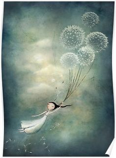 Away with the fairies  by Amanda  Cass. Love this