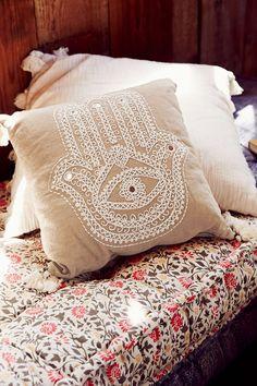 Plum & Bow Hamsa Pillow