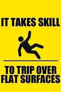 A skill I perfected long ago! Lol!
