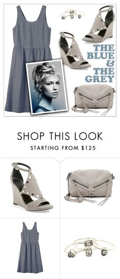 """""""The Blue & The Grey"""" by christinacastro830 ❤ liked on Polyvore featuring Kendall + Kylie, Botkier, Toast, women's clothing, women, female, woman, misses and juniors"""