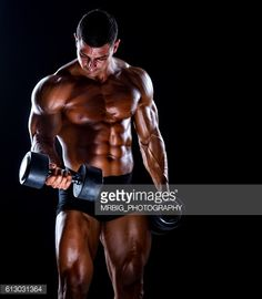 Stock Photo : Body Building Workout