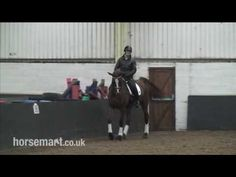 How to ride a Traver in dressage