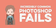 Incredibly Common Photoshop Fails to Avoid Standard Image, Photoshop Fail, Logo Design, Graphic Design, Image Editor, Article Design, Lens Flare, Typography Fonts, Packaging Design