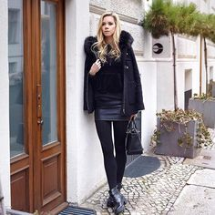 All black everyday outfit Happy Colors, Everyday Outfits, Techno, All Black, Normcore, Instagram Posts, Style, Fashion, All Black Everything