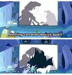 Adventure Time Quotes Anything can tear you apart! I know Marcy and Finn can! :D