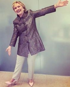 Hillary Clinton Wears Heels Katy Perry Named After Her