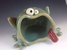 Kooky Frog Dish - Seafoam. $42.00, via Etsy.