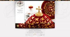 Webdesign for Premium Vodka using Tsar Ivan IV The Terrible Vasilyevich Rurik (25 Aug 1530-28 Mar 1584) Russia.